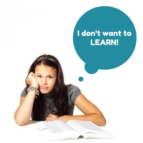 I don't want to LEARN! photo