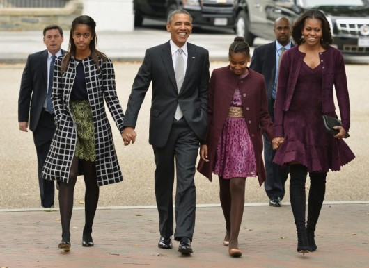 Family man Barack Obama