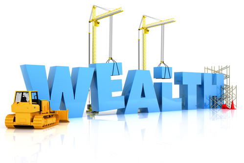 building wealth photo